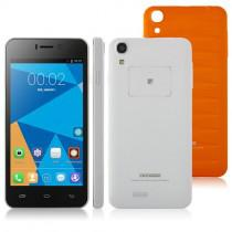 Doogee DG800 Android 4.4 SmartPhone MTK6582 Quad Core 4.5 inch 1GB 8GB 13MP camera Orange Lozenge plaid