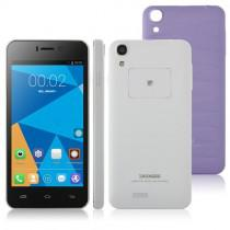 Doogee DG800 Android 4.4 SmartPhone MTK6582 Quad Core 1GB 8GB 4.5 inch 13MP camera Purple Lozenge plaid